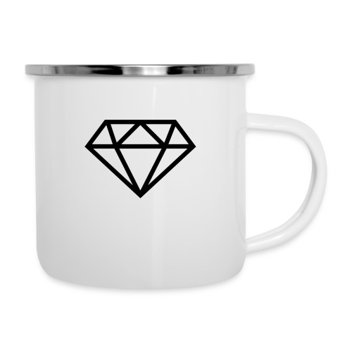 diamond outline 318 36534 - Camper Mug