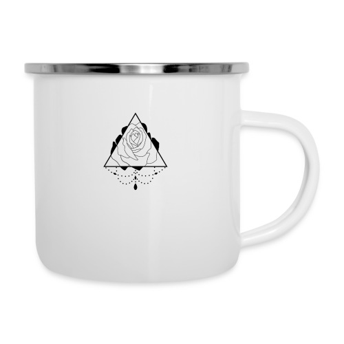 black rose - Camper Mug