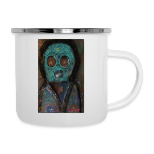 The galactic space monkey - Camper Mug