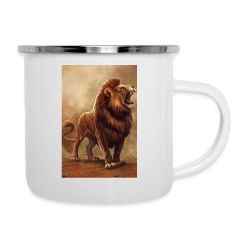 Lion power roar - Camper Mug