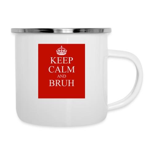 DP Branded-Keep Calm And Drink Bruh - Camper Mug