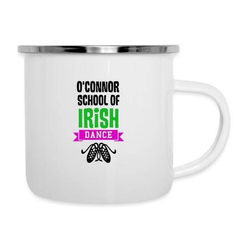 OSID Pink & Green Logo Black - Camper Mug