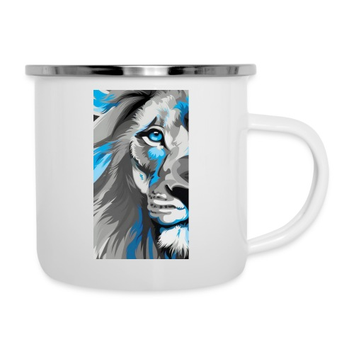 Blue lion king - Camper Mug
