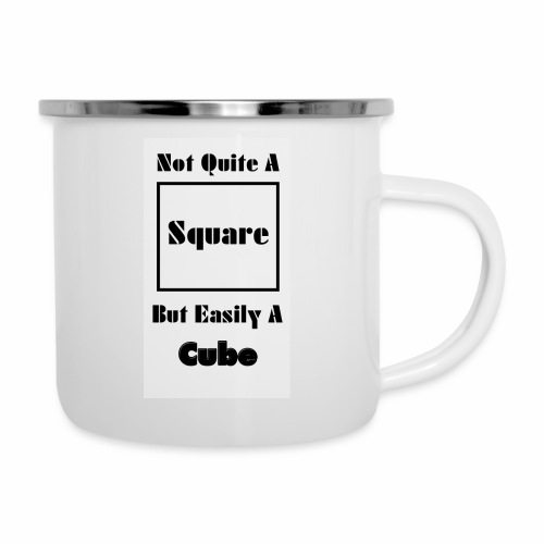 Not Quite A Square But Easily A Cube - Camper Mug