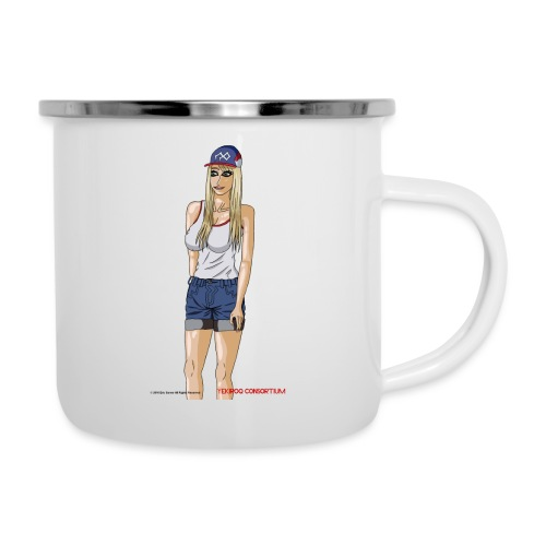 Gina Character Design - Camper Mug
