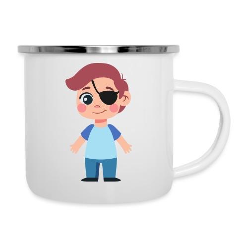 Boy with eye patch - Camper Mug