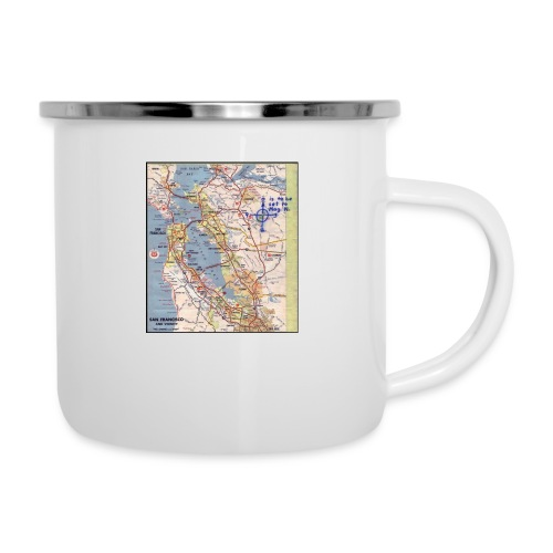 Phillips 66 Zodiac Killer Map June 26 - Camper Mug