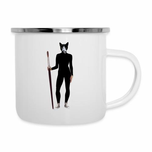 Cat Artist - Camper Mug