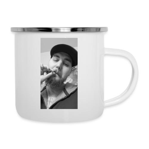 Turupxprime Hoots black n white merch line. - Camper Mug