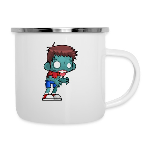 male zombie - Camper Mug