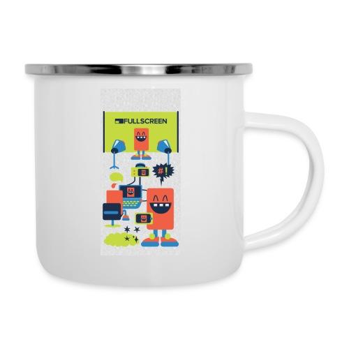 iphone5screenbots - Camper Mug