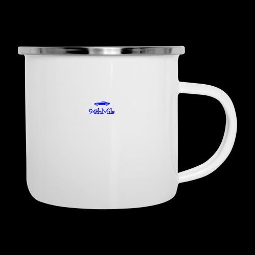 Blue 94th mile - Camper Mug