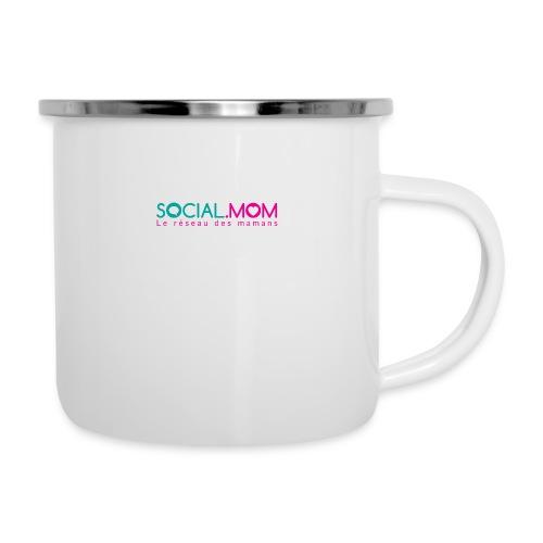 Social.mom logo français - Camper Mug