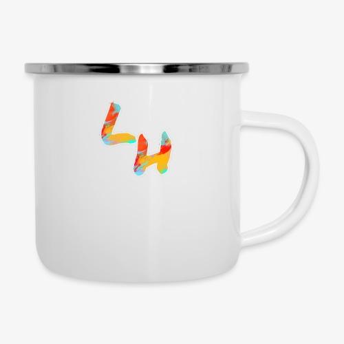 Los Hermanos Logo - Camper Mug