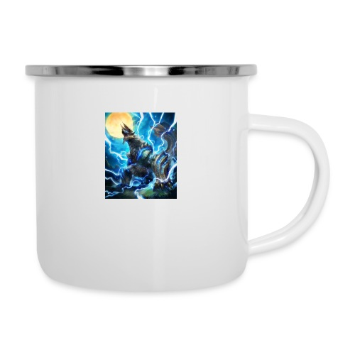 Blue lighting dragom - Camper Mug