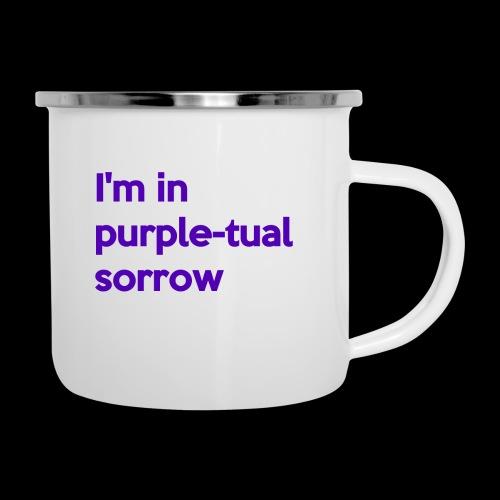 Purple-tual sorrow - Camper Mug