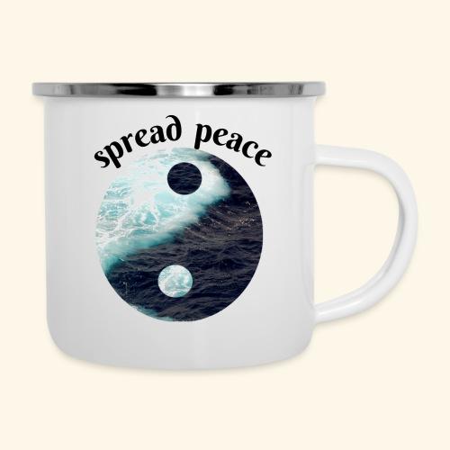 spread peace - Camper Mug