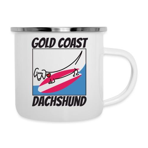 Gold Coast Dachshund - Camper Mug