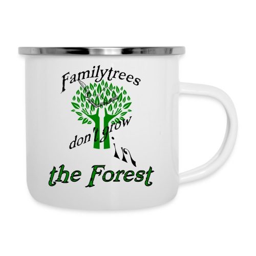 genealogy family tree forest funny birthday gift - Camper Mug