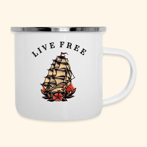 LIVE FREE - Camper Mug