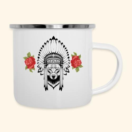 WOLF KING - Camper Mug