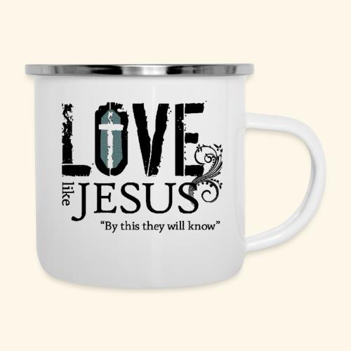 LOVE LIKE JESUS - Camper Mug