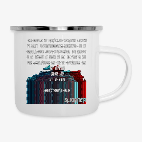 ERROR Lyrics - Camper Mug