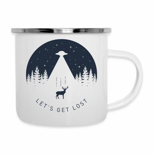 Let's get lost - Camper Mug
