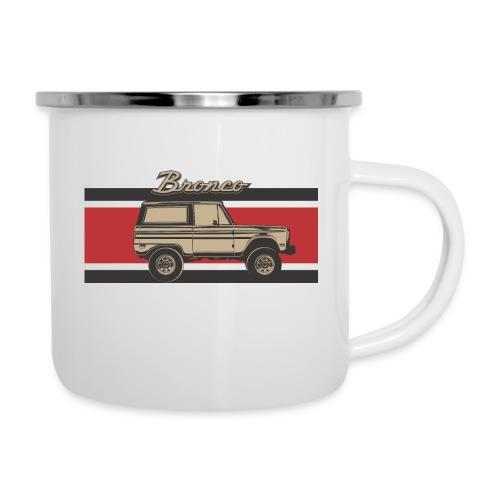 Bronco Truck Billet Design Men's T-Shirt - Camper Mug