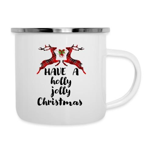 Holly Jolly Christmas - Camper Mug