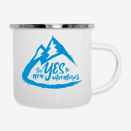 Say Yes to Adventure - Coloured - Camper Mug
