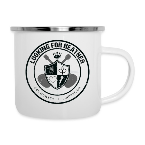 Looking For Heather - Crest Logo - Camper Mug