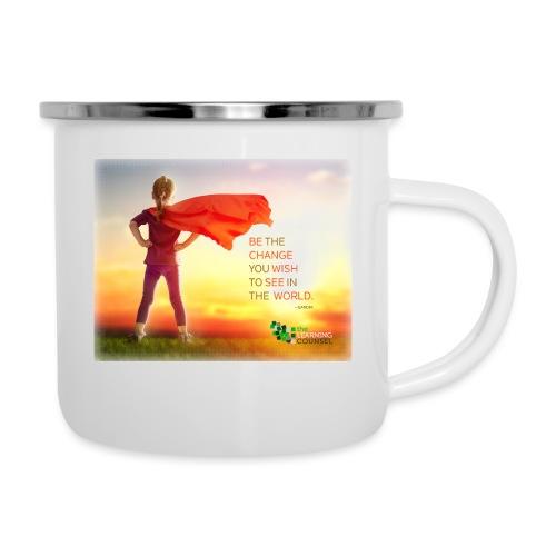 Education Superhero - Camper Mug