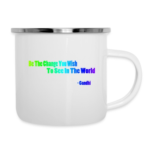 Motto by Gandhi - Camper Mug