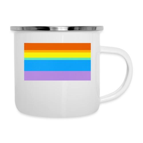 Modern Rainbow II - Camper Mug
