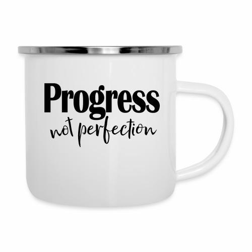 Progress not perfection - Camper Mug