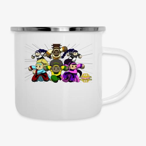 The Guardians of the Cloudgate w/ Logo - Camper Mug