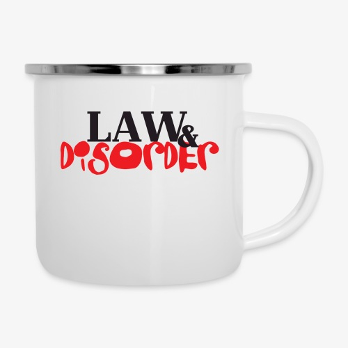 Law DISORDER Logo - Camper Mug