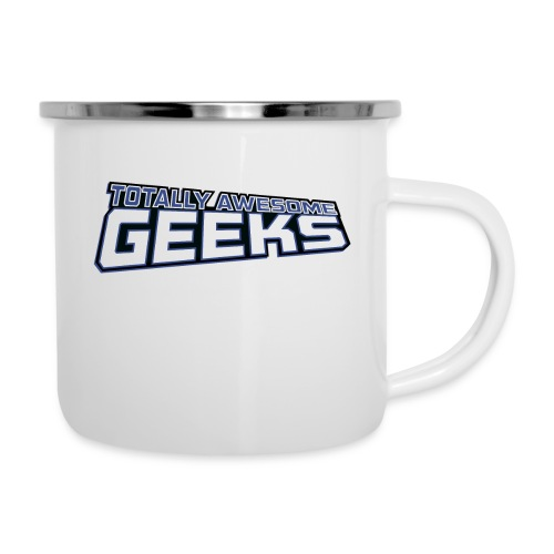 Logo For Totally Awesome Geeks - Camper Mug