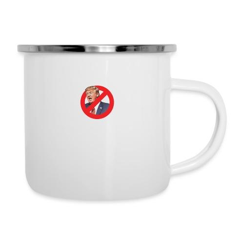 blog stop trump - Camper Mug