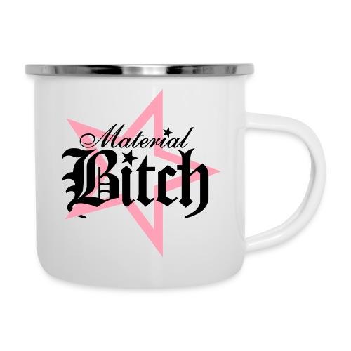 Material Bitch Logo - Camper Mug