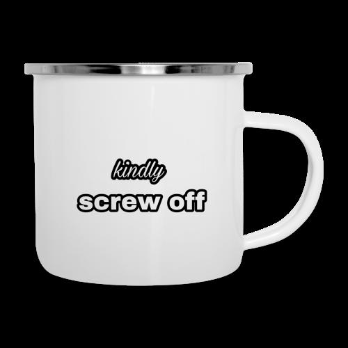 Kindly screw off mug - Camper Mug