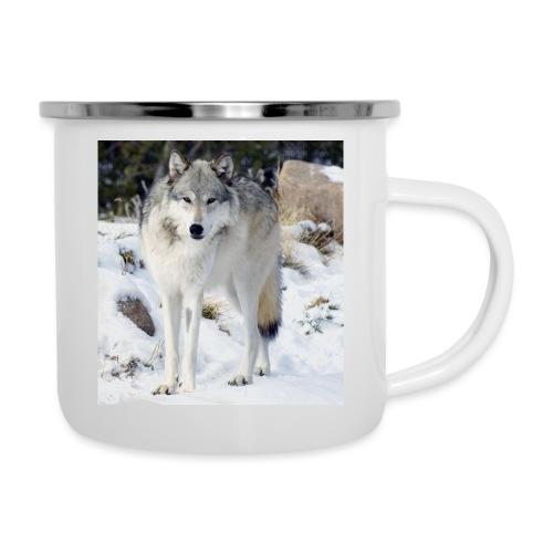 Canis lupus occidentalis - Camper Mug