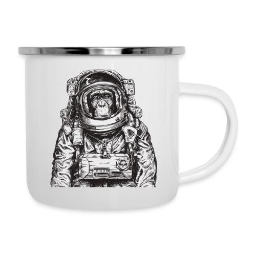 Monkey Astronaut - Camper Mug