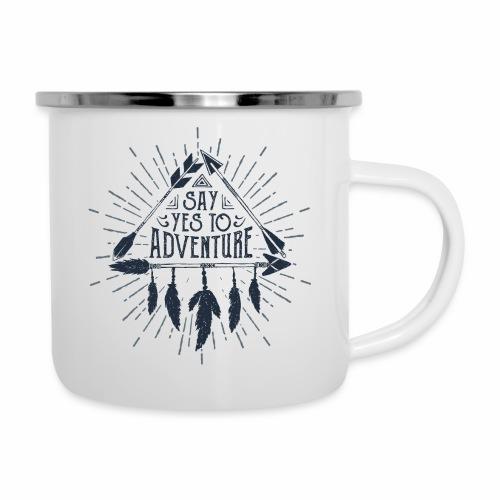 say yes to adventure - Camper Mug