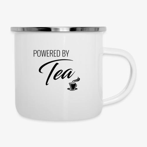 Powered by Tea - Camper Mug