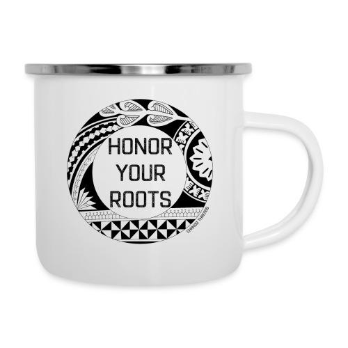 Honor Your Roots (Black) - Camper Mug
