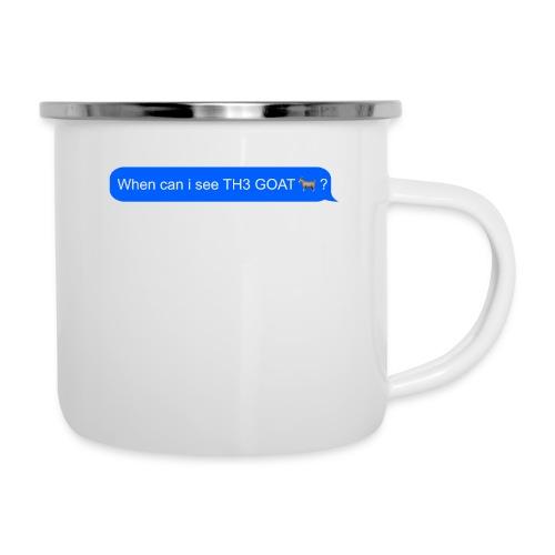 when can i see th3 goat - Camper Mug