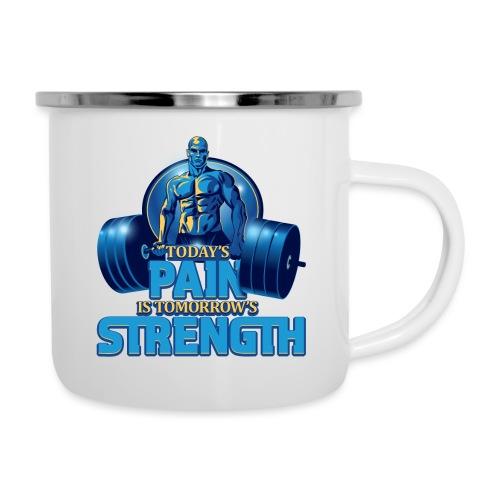 Heavy Lifting Man - Camper Mug