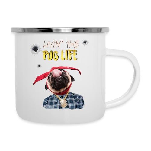 livin' the puglife - Camper Mug